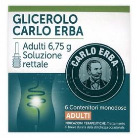 Glicerolo Adulti 6 Contenitore 6,75g