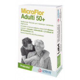 Microflor Adulti 50+ 30 Capsule