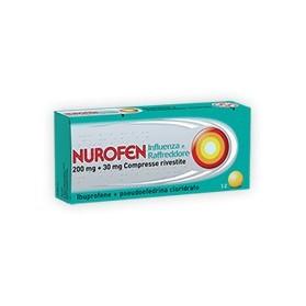 Nurofen Influen Raffredd 12 Compresse