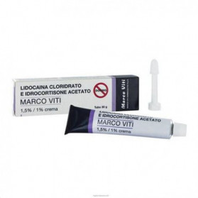 Lidocaina Idrocort Mv Crema 30g
