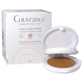 Eau Thermale Avene Couvrance Crema Compatta Colorata Nf Oil Free Sabbia 9,5 g