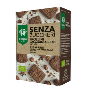 Frollini Cacao/nocciole Senza Zucchero