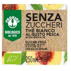 The' Bianco Pesca Senza Zucchero 250ml