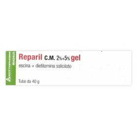 Reparil Gel Cm 40g 2%+5%