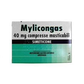 Mylicongas 50 Compresse Masticabile 40mg