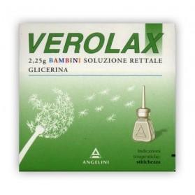 Verolax Bambini Rettale 6clismi 2,25g