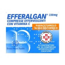 Efferalgan 20 Compresse Effervescente 330+200mg