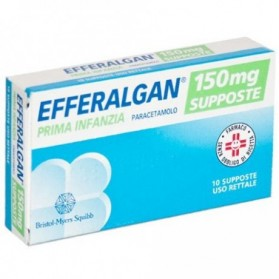 Efferalgan 10 Supposte 150mg