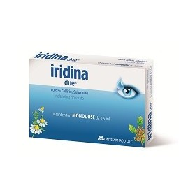 Iridina Due Collirio 10 Flaconcino 0,5ml0,05