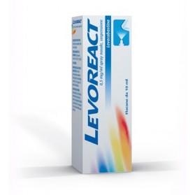 Levoreact Spray Nasale 10ml 0,5mg
