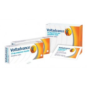 Voltadvance 10 Compresse Rivestite 25mg