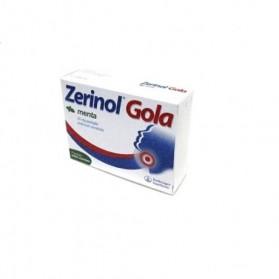 Zerinol Gola Menta 18 Pastiglie 20mg