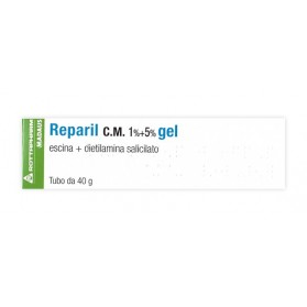 Reparil Gel Cm 40g 1%+5%