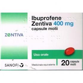 Ibuprofene Zen 20 Capsule 400mg