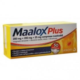 Maalox Plus 50 Compresse Masticabile