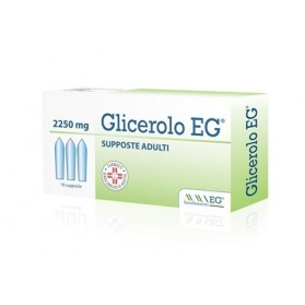 Glicerolo Eg Adulti 18 Supposte 2250mg