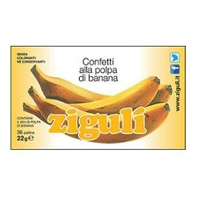 Ziguli Banana 36 Palline 22 g