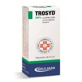Trosyd Soluzione Ungueale 12ml 28%