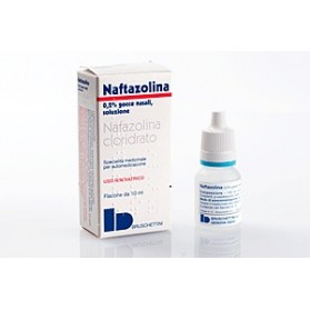 Naftazolina Gocce Nasale 10ml 0,2%