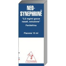 Neosynephrine Gocce 15ml2,5mg/ml