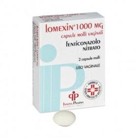 Lomexin 2 Capsule Molli Vaginale 1000mg