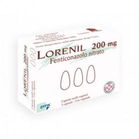 Lorenil 3 Capsule Molli Vaginale 200mg