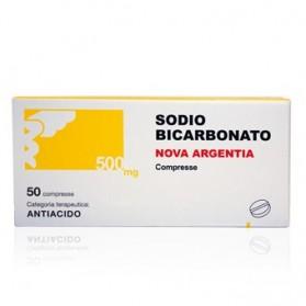 Sodio Bicarb 50 Compresse 500mg