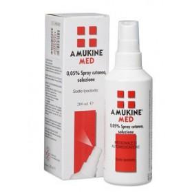 Amukine Medicato Spray Cutaneo 200ml0,05%