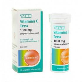 Vitamina C Teva 10 Compresse Effervescente 1g