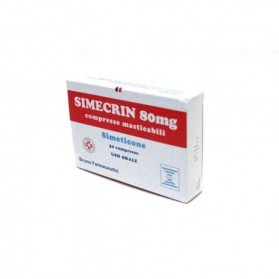 Simecrin 30 Compresse Masticabile 80mg