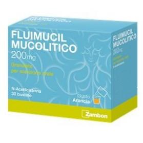 Fluimucil Mucolitico Uso Orale 30 Bustine 200mg