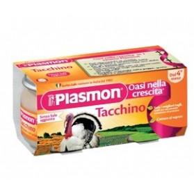 Plasmon Omogeneizzato Tacchino 80 g X 2 Pezzi