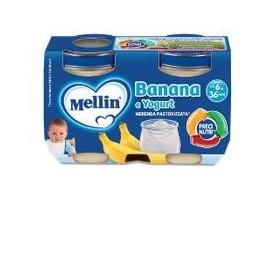 Mellin Merenda Yogurt Banana 2x120 g