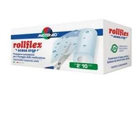 Cerotto Adesivo Impermeabile Master-aid Rollflex Acquastop 2x10