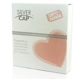 Silver Cap Coppette In Argento Copri Capezzoli Per Allattamento