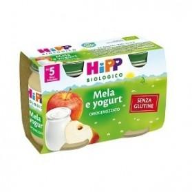 Hipp Biologico Omogeneizzato Mela Yoghurt 125 g 2 Pezzi