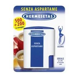 Hermesetas Senza Aspartame 500 + 200 Compresse
