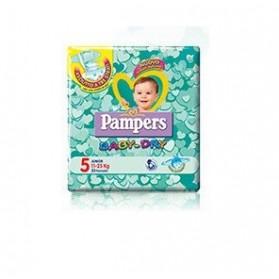 Pannolini Per Bambini Pampers Baby Dry Downcount No Flash Junior 17 Pezzi