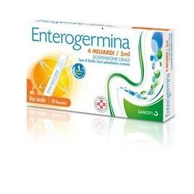 Enterogermina Uso Orale 10 Flaconcino 4 Miliardi 5ml