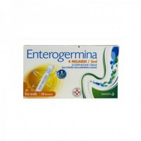 Enterogermina Uso Orale 20 Flaconcino 4 Miliardi 5ml