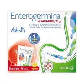 Enterogermina Uso Orale 10 Buste 6 Miliardi 2g