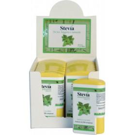 Stevia Edulcorante 200 Compresse Display Contenente 14 Dispenser