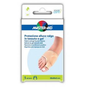 Protezione Master-aid In Gel E Tessuto Per Alluce Valgo 1 Pezzo