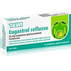 Eugastrol Reflusso 14 Compresse 20mg