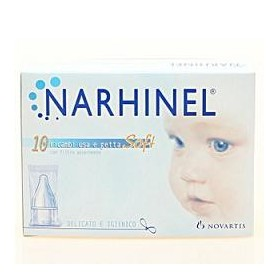 Ricarica Usa E Getta Per Aspiratore Nasale Narhinel 20 Pezziusa E Getta Soft