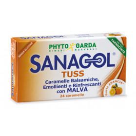 Sanagol Tuss Arancia 24car