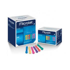Lancette Pungidito Per Apparecchio Microlet Lancets 200 Pezzi