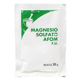 Magnesio Solfato Afom 1 Bustine