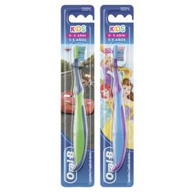 Oralb Spazz Man Cars&princ 3-5