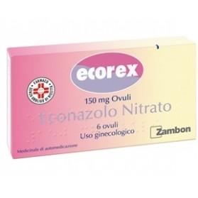 Ecorex 6 Ovuli Vaginali 150mg